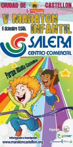 El 'V Maratón Infantil' hará que más de 500 niños y niñas disfruten en el Parque de Ribalta con el patrocinio de Salera